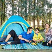 戶外帳篷3-4人全自動野外露營2人家庭野營加厚防雨二室一廳速開  Cocoa  IGO