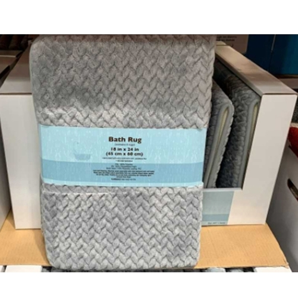 [COSCO代購] C126602 MOHAWK HOME ECO BATH RUG 環保記憶綿浴室地墊2入 尺寸:45X60公分