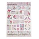 《Sanrio》美樂蒂談心郵件系列留言裝飾貼紙★funbox生活用品★_UA43264