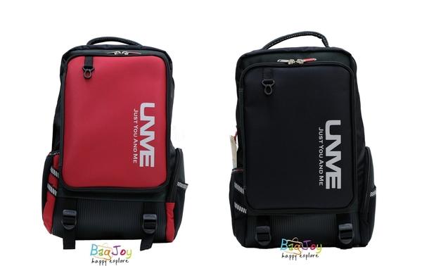 UNME 台灣製 兒童書包 中高年級適用 3268 紅色/黑色
