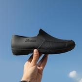 雨鞋 雨鞋男士低幫時尚短筒防水鞋雨靴男防滑雨鞋廚房工作鞋釣魚懶人鞋
