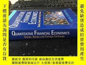 二手書博民逛書店QUANTITATIVE罕見FINANCIAL ECONOMICS(Stocks,bonds and foreig