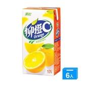 黑松柳橙C300ml*6入【愛買】