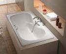 【麗室衛浴】美國KARAT BT-8675 鑄鐵浴缸(含雙把手)160*75*42CM