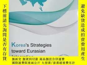 二手書博民逛書店Korea s罕見Strategies toward Euras