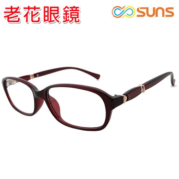 老花眼鏡 簡約典雅紅框老花眼鏡 精品老花 佩戴舒適 閱讀眼鏡 時尚新潮流老花眼鏡