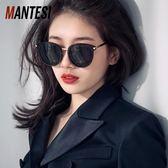 墨鏡女明星同款韓版潮偏光圓臉復古原宿風眼鏡太陽鏡