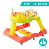 (新品)Creative Baby 多功能三合一音樂折疊式學步車【六甲媽咪】