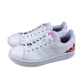 adidas ADVANTAGE 網球鞋 運動鞋 白/花卉後跟 女鞋 FZ2033 no893