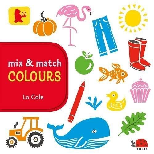 【幼兒顏色學習書】COLOURS /MIX & MATCH