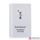 (即期良品)Sulwhasoo 雪花秀 滋晶雪瀅煥白磨砂蜜(3ML)-期效201904【美麗購】