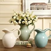 陶瓷花瓶擺件輕奢北歐插花水培花器客廳家居裝飾【英賽德3C數碼館】