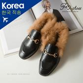 穆勒鞋.毛絨紳士穆勒鞋-FM時尚美鞋-韓國精選. Focus