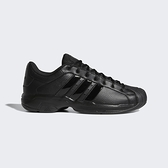 Adidas Pro Model 2g Low [FX7100] 男鞋 籃球 柔軟 避震 耐磨 穩定 復刻 愛迪達 黑