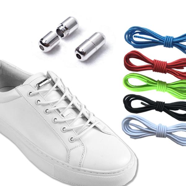 鞋帶 懶人鞋帶 免綁鞋帶 彈性鞋帶 膠囊鞋帶 免繫鞋帶 伸縮鞋帶 鞋扣 伸縮鞋帶 兒童 金屬 五色