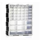 透明塑料抽屜式收納櫃多層玩具車手工材料小格收納盒小櫃子收納箱 【全館免運】