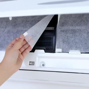高級冷暖氣機空調濾網40*35cm PET防塵膜有效過濾灰塵棉絮 2枚入