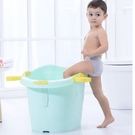 兒童洗澡桶寶寶泡澡桶大號小孩沐浴桶可坐躺...