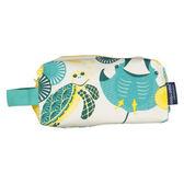 法國 COQENPATE 方方立體袋 化妝包 收納袋 (海洋)