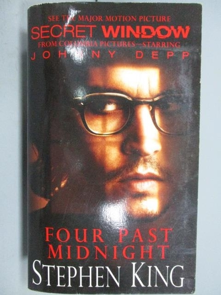 【書寶二手書T8/原文小說_KSQ】Four Past Midnight_Stephen King