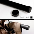 Bachee窗簾桿裝飾頭-黑色(單入) 適用直徑28mm窗簾桿 窗簾零件配件/台灣製MIT【MSBT 幔室布緹】