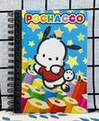 【震撼精品百貨】Pochacco 帕帢狗~三麗鷗帕帢狗~筆記本A6~繽紛*05423