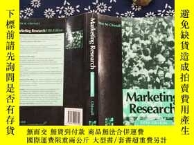 二手書博民逛書店Marketing罕見Research FIFTH EDITIO