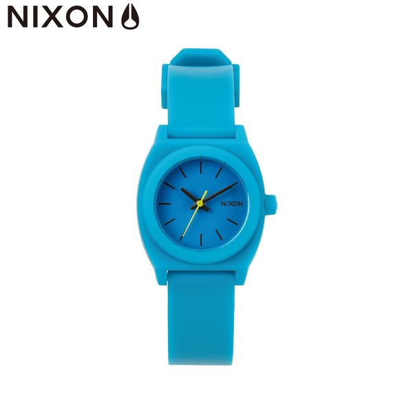 NIXON手錶 原廠總代理 A425-314 THE SMALL TIME TELLER P 水藍色 潮流時尚膠錶帶 男女 運動 生日 情人節禮物