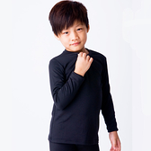 兒童保暖衣 發熱保暖 3M吸排技術 保暖衣 黑色