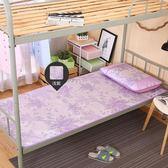 舒身涼席單人床學生宿舍上下鋪0.9米雙面草席子卡通冰絲席1.2