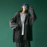 外套衛衣女秋冬2019新款女冬季加絨加厚寬鬆羊羔絨拉鍊運動開衫潮  潮流衣館