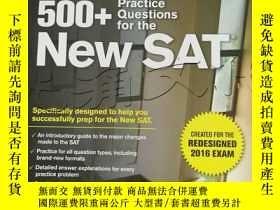 二手書博民逛書店500+罕見Practice Questions for the