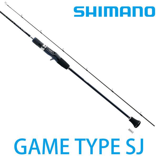 漁拓釣具 SHIMANO GAME TYPE SLOW J B684 (船釣鐵板竿)