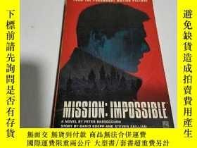 二手書博民逛書店MISSION罕見IMPOSSIBLE(英文)Y212829