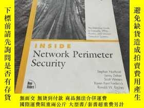二手書博民逛書店Inside罕見Network Perimeter SecurityY181138 出版2003