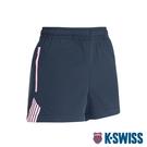 K-SWISS KS Logo Shorts運動短褲-女-黑