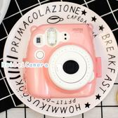 BaiBaiCamera (粉紅) 富士  mini9 mini8+ Mini8 水晶殼 拍立得 保護殼 保護套 透明殼 相機包