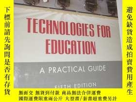 二手書博民逛書店Technologies罕見for Education: A P