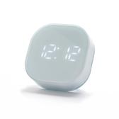 方塊小鬧鐘簡約夜光靜音電子時鐘