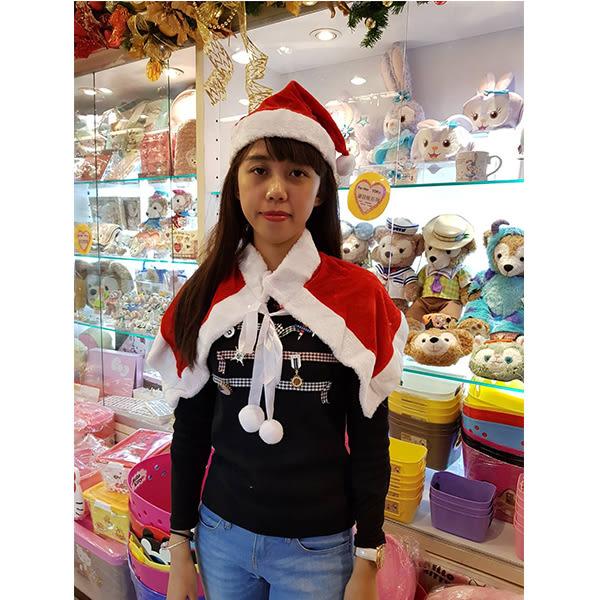 節慶王【X030002】聖誕披肩+帽子,化妝舞會/角色扮演/尾牙表演/萬聖節/聖誕節/兒童變裝