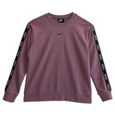 Nike 耐吉 AS W NSW CREW LOGO TAPE  長袖上衣 AR3055515 女 健身 透氣 運動 休閒 新款 流行