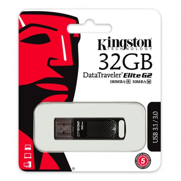 Kingston 金士頓 32G 32GB 180MB/s DataTraveler Elite G2 DTEG2 USB3.0/3.1 隨身碟