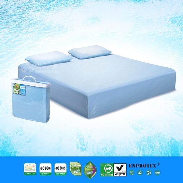 來而康 淳碩 涼感防水床包組 (雙人特大版) 涼感 防水 防瞞 防靜電 消臭