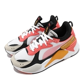 Puma 休閒鞋 RS-X Toys 白 橘 黑 男鞋 女鞋 玩具公仔系列 老爹鞋 復古慢跑鞋 運動鞋【ACS】 36944919