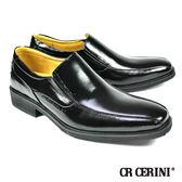 【CR CERINI】小方頭商務樂福鞋 黑色(54511-BL)