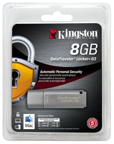 【台中平價鋪】全新 金士頓 KINGSTON DTLPG3 Locker+ 8G鐵灰色 ( DTLPG3/8GB )