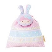 Sanrio 雙星仙子復活節兔兔造型縮口袋(LALA)★funbox★_165191A