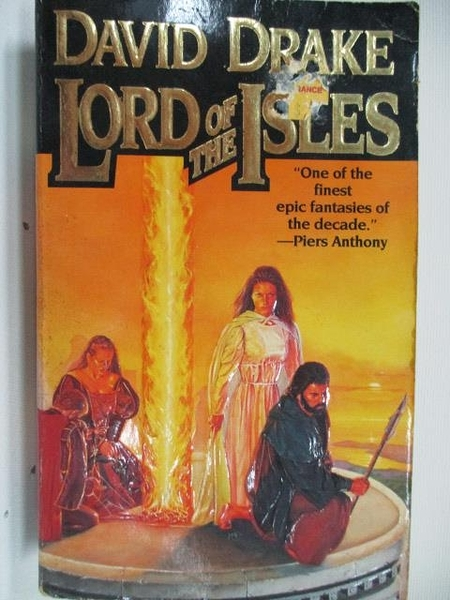 【書寶二手書T8/原文小說_AI5】Lord of the Isles_David Drake