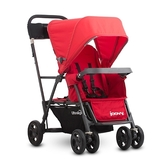 Joovy Caboose Ultralight Graphite 新款輕量級雙人推車 - 紅(第二座椅需另購)【佳兒園婦幼館】
