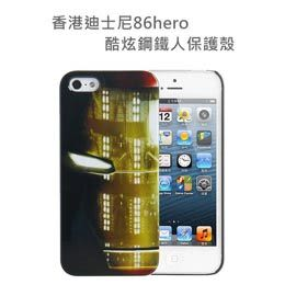 【默肯國際】正版授權 Marvel 86hero Apple iPhone 5 專用 保護殼 - 鋼鐵人 Head